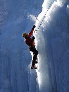ice climbing is so badass