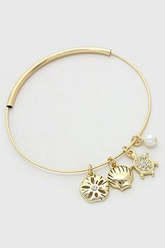 Beachy Charm Bracelet | Women's Clothes, Casual Dresses, Fashion Earrings & Accessories | Emma Stine Limited