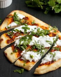 Toasted Garlic Naan