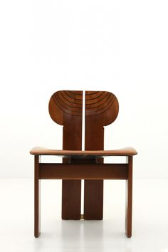 "SE04121453 - Dimore Gallery""Africa"" chairs from the ""Artona"" series, Tobia Scarpa for Maxalto"