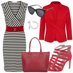 Business Outfits: Attractive bei FrauenOutfits.de #fashion #fashionista #mode #damenmode #frauenmode #outfit #damenoutfit #frauenoutfit #frühling #ootd #inspiration #look #style #etuikleid #highheels #handtasche #blazer #sonnenbrille