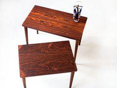 Palissander nesting set  Vintage furniture base Rotterdam