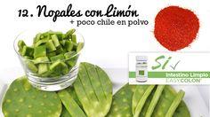 22 Snacks Saludables, Nopales con Limón