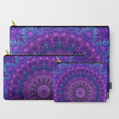 Harmony in Purple Carry-All Pouch - $40 for all three!
