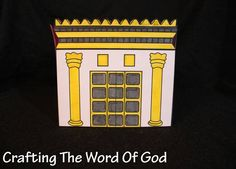 A quick craft to go along with the story of Solomon building the temple in Jerusalem. This craft can also be done for the story of the reconstruction of the temple. Instructions Print the template … Bible Story Crafts, Bible Crafts For Kids, Preschool Bible, Preschool Crafts, Kids Bible, Children Crafts, Sunday School Lessons, Sunday School Crafts, Rebuilding The Temple