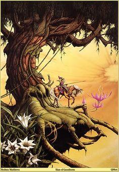 Castle Dragonscar: 1970s Fantasy Art: Rodney Matthews & Roger Dean