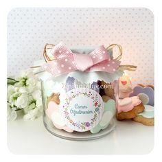 Teachers day cookie jar - flower cookies