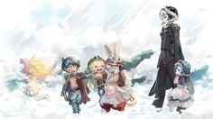 Anime Made In Abyss Ozen (Made in Abyss) Nanachi (Made in Abyss) Regu (Made in Abyss) Riko (Made in Abyss) Mitty (Made in Abyss) Maruruk (Made in Abyss) Wallpaper