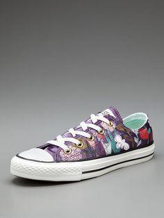 Converse  Chuck Taylor Satin Floral Low Top Sneaker