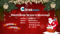 CitrusStudio is a leading web design Mississauga and website development company offers eCommerce, WordPress and SEO friendly custom design websites. Contact our web designers today. Website Design Services, Website Development Company, Google Search Results, Seo Company, Business Entrepreneur, Custom Design, Wordpress, Range, Christmas