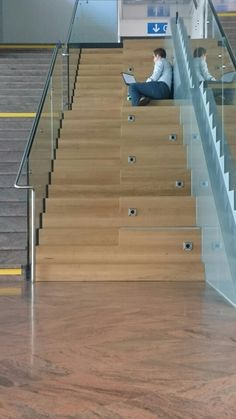 Stairs/seating spotted @Innsbruck airport