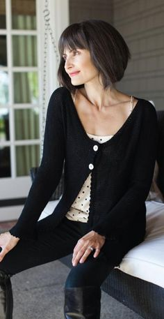 Beth Cardigan by BeSweet | Knitting Pattern - Free