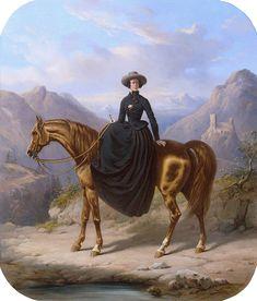 Alexandrine Tinne, by Henri Auguste d'Ainecy Montpezat - Alexandrine Tinne - Wikipedia
