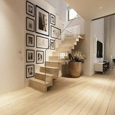 Image result for gallery staircase wall