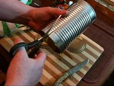 The Tin Can Survival Cook Stove - http://prepping.fivedollararmy.com/uncategorized/the-tin-can-survival-cook-stove/