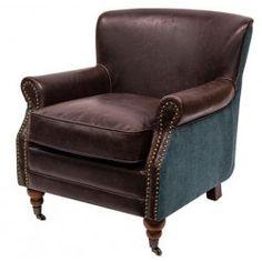 sillón motto azul