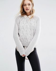 Rollas | Rolla's Cable Knit Jumper