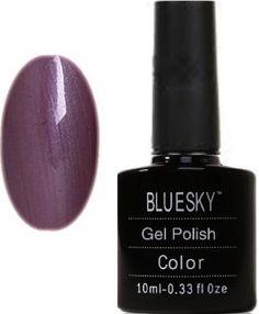 Bluesky UV LED Gel Soak Off Nail Polish, Autumn Purple