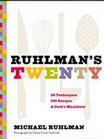 Ruhlman's Twenty: 20 Techniques 100 Recipes A Cook's Manifesto by Michael Ruhlman. I'm always looking for cooking technique books and this one is excellent. Good recipes that are actually doable. The Science Of Cooking, Fun Cooking, Cooking Tips, Cooking School, New Books, Books To Read, Cookie Bowls, Chef Cookbook, Thomas Keller
