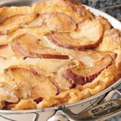 Dutch Apple Pancake