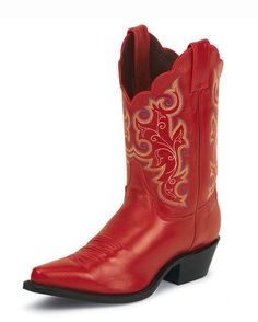 Women's Red Classic Boot - L4971