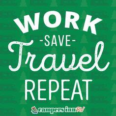 Campers Inn RV Blog Rv TravelMantraBook JacketTravel QuotesBook Cover