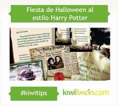 Fiesta de Halloween al estilo Harry Potter.