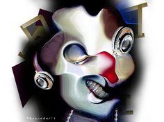 "Saatchi Art Artist Banu Haznedar; Photography, ""Secret Face"" #art"