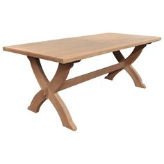 Oak-Top Dining Table, circa 1960 For Sale Modern Dining Room Tables, Dining Bench, Table Furniture, Cool Furniture, Vintage Table, Picnic Table, Solid Oak, Antiques, Top