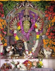 Bhairav Parvat is an important Shakthi Peeta. Here Devi Durga is worshipped as Maa Avantika and Lord Shiva is worshipped as Lambkarna. Sati's upper lips fell here.