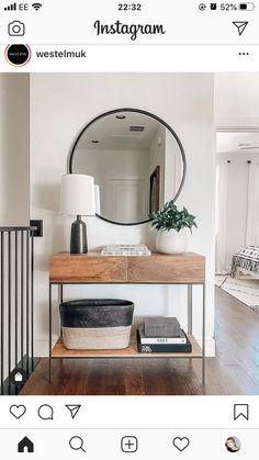Industrial Storage, Entrance Decor, Room Planning, Small Furniture, Living Room Inspiration, Diy Storage, West Elm, Sweet Home, New Homes