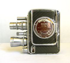 Bell & Howell vintage Movie Camera  Filmo by Mylittlethriftstore