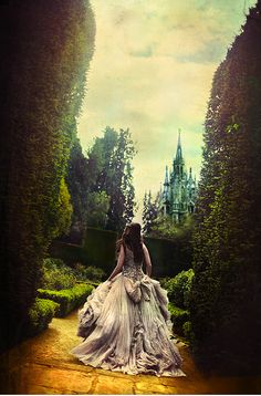 fairy tale photoshoot. This was on the cover of a book I read