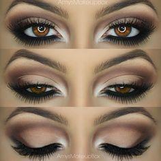 Soft eye makeup ♡