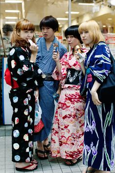 The latest trend in Japan is the updated kimono. How cool...