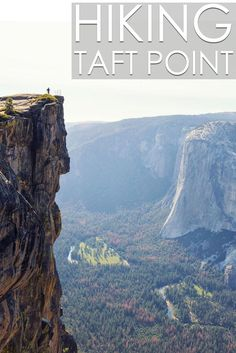 Taft Point Hike in Yosemite National Park via @cathroughmylens