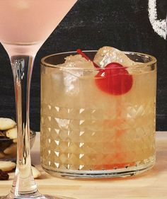 Fresh Whiskey Sour recipe from IKEA: Pair with RUSSIN & MANDEL raisin and almond mix 3/4 cup whiskey 1/2 cup freshly squeezed lemon juice 1/2 cup freshly squeezed lime juice 2/3 cup sugar syrup Marschino cherries