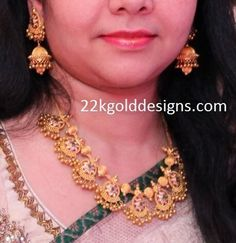 Cleaner For Gold Jewelry Key: 8407775023 Indian Jewellery Design, Jewelry Design, Latest Jewellery, Fashion Jewellery, Fashion Necklace, Ball Necklace, Necklace Set, Indian Wedding Jewelry, 14k Gold Jewelry