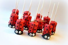 Ladybug Birthday Party Favors Dessert Chocolate Dipped inside sizing 1500 X 1001 Ladybug Food Ideas For Baby Shower - When hosting a baby shower, you want Chocolate Dipped Marshmallows, Marshmallow Pops, Ladybug Food, Ladybug Garden, Ladybug Cupcakes, Kitty Cupcakes, Snowman Cupcakes, Giant Cupcakes, Miraculous Ladybug Party