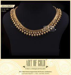 Traditional Gejje Addige | Art of Gold Jewellery, Coimbatore