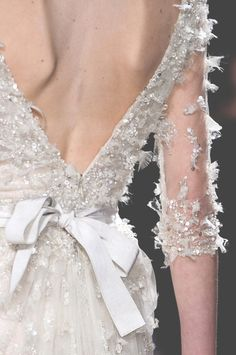 This is like ice! Perfect for that December wedding.