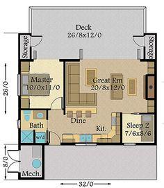 149-1883: Floor Plan Main Level