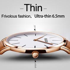 OLEVS Casual Watch Men Luxury Brand Quartz  wasserdicht Sport Watch Genuine Leather Men's Wristwatch relogio masculino