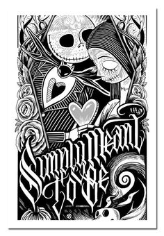 Simply Meant To Be::The Nightmare Before Christmas. Jack And Sally Wallpaper. Colouring Pages, Adult Coloring Pages, Coloring Books, Jack Und Sally, Jack And Sally Quotes, Art Doodle, Nightmare Before Christmas Tattoo, Nightmare Before Christmas Wallpaper, Fröhliches Halloween