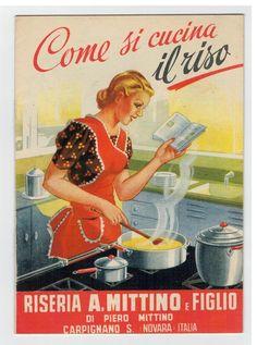 """""""Recipe Book: How to Cook Rice"""" Ricettario Come si cucina il riso Riseria Mittino Carpignano Sesia Novara"""