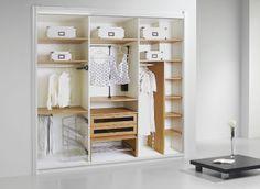 Diseñando el interior de un armario o placard - Saber y Hacer