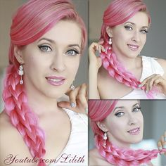 Stacked braid hairstyle - easier than ever. Watch my tutorial on http://www.youtube.com/watch?v=xkhfYkHR_SM