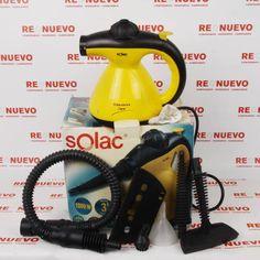#Limpiador a vapor #SOLAC #STEAM JET en caja E269771 de segunda mano | Tienda de Segunda Mano en Barcelona Re-Nuevo #segundamano