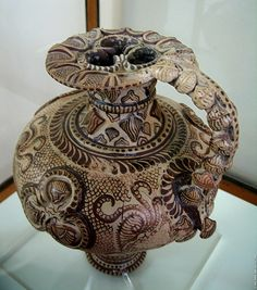 Minoan Art Pottery | Minoan Marine Style Pitcher | Heraklion Archaeological Museum, Crete
