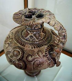 Minoan Art Pottery | Minoan Marine Style Pitcher | Heraklion Archaeological Museum, Crete